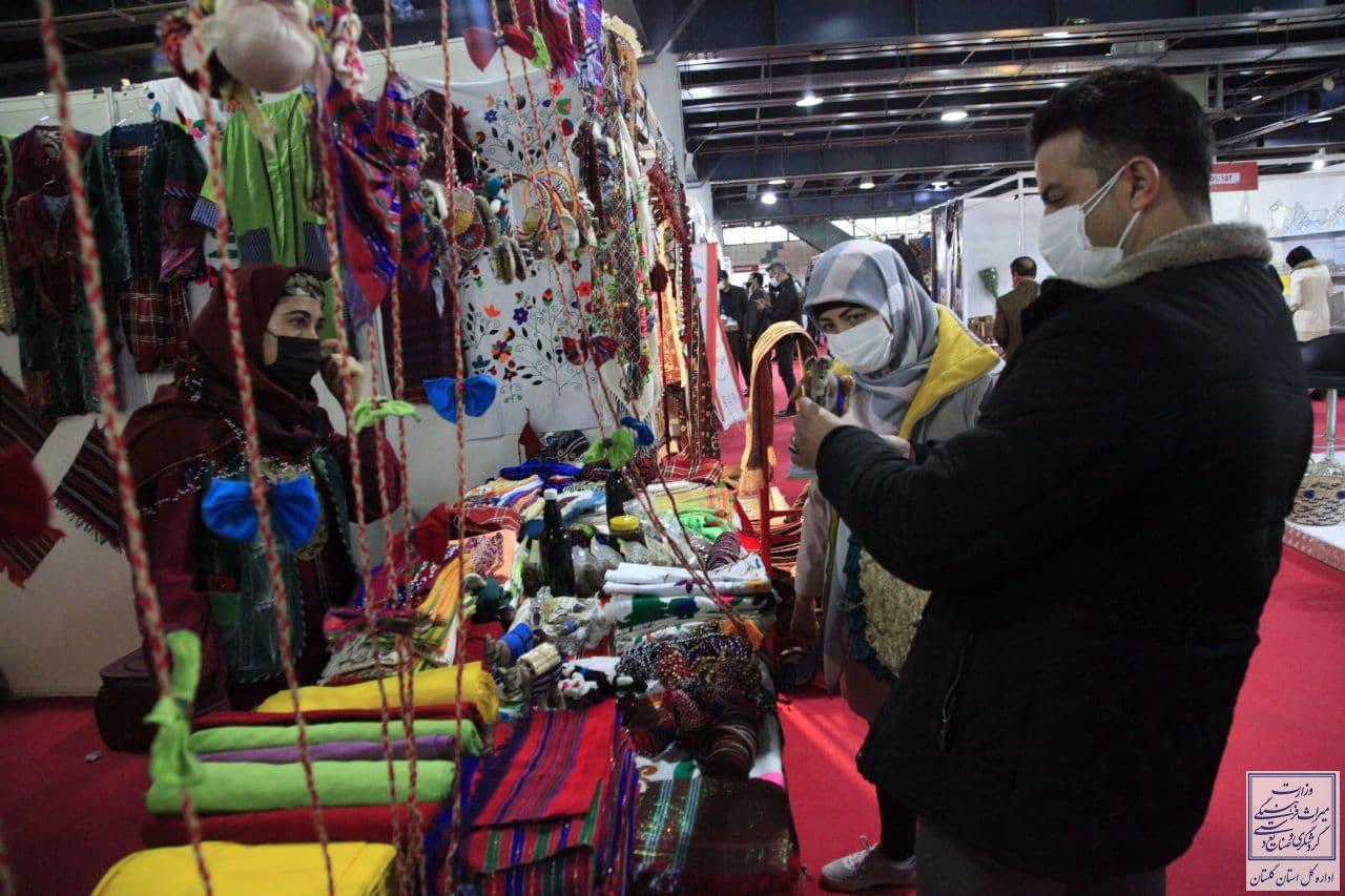 گزارش تصویری/بخش های نمایشگاهی استان گلستان در روز پایانی نمایشگاه بین المللی گردشگری و صنایع دستی تهران