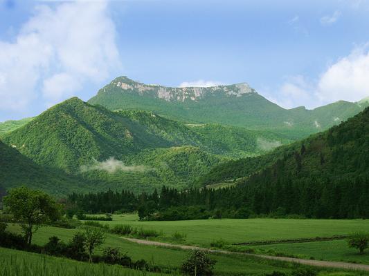 سرزمین کهن و تاریخی رامیان ؛ بهشت کوچک گلستان / قلعه ماران پایتخت ییلاقی سلسله اشکانیان