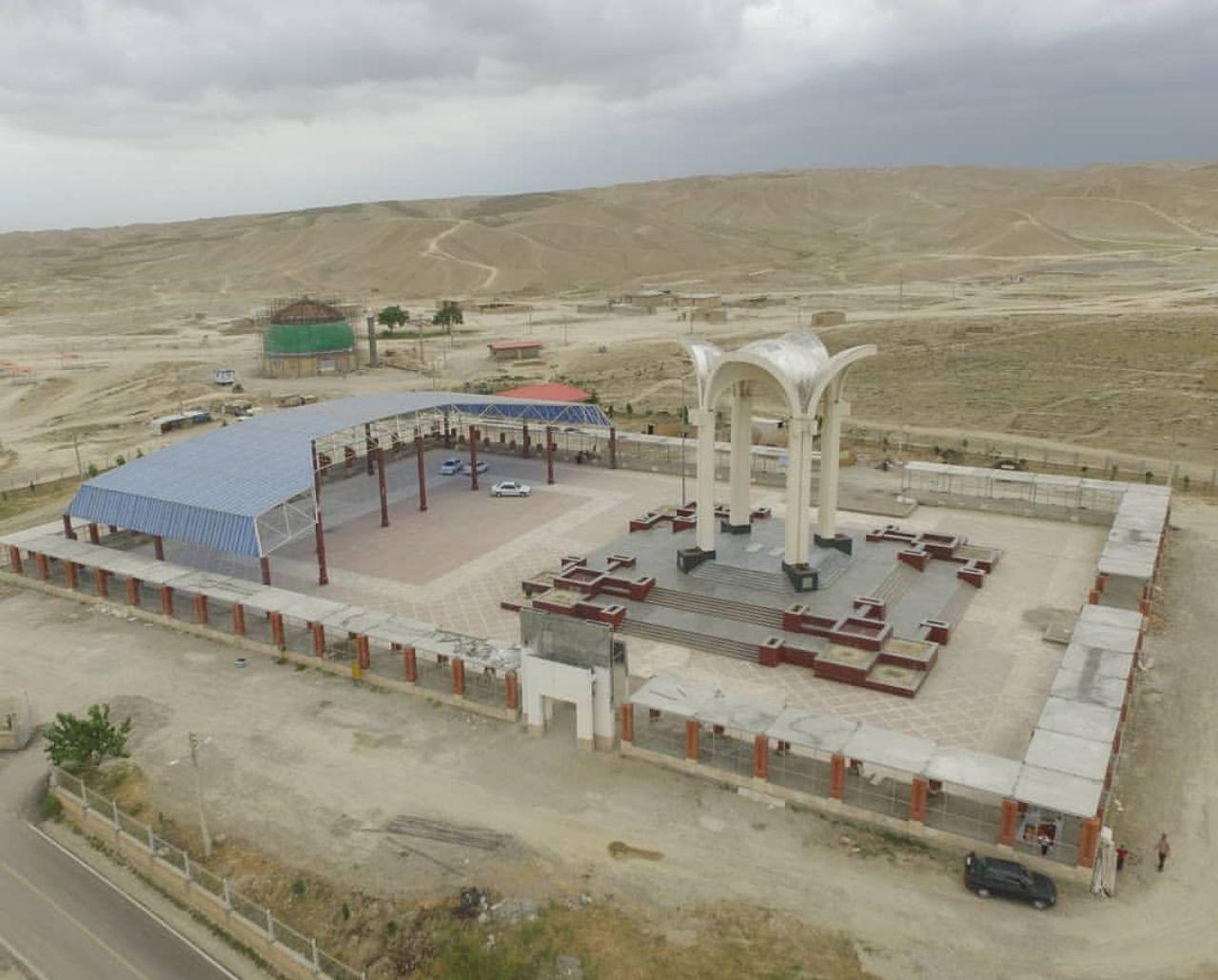 عملیات اجرایی تکمیل محوطه سازی منطقه نمونه گردشگری مختومقلی فراغی با اعتبار 7125 میلیون ریال در حال اجرا می باشد