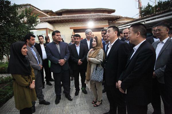 بازدید مدیران شهری گوانگ ژو از بافت تاریخی استرآباد _گرگان