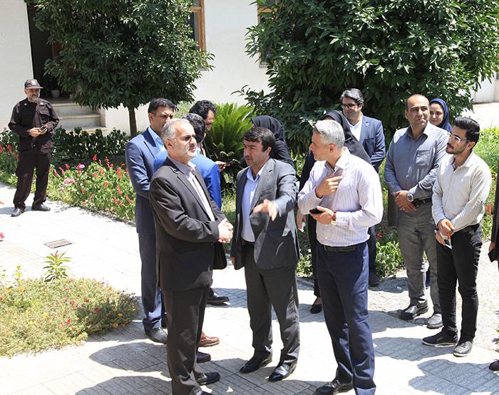 بازدید رییس سازمان مدیریت و برنامه ریزی گلستان از بافت تاریخی گرگان(استرآباد)