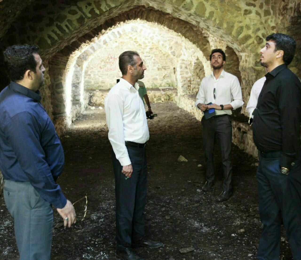 بازدید مدیرعامل صندوق احیا و بهرهبرداری از اماکن تاریخی کشور از کاروانسراهای تاریخی محور توسکستان گرگان