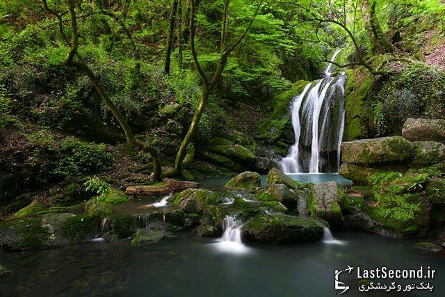 آبشار پشمکی رامیان