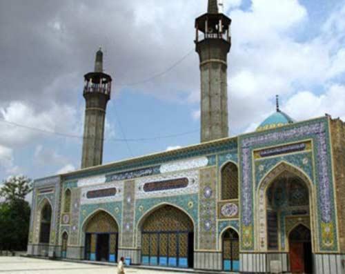 امامزاده حضرت يحيي بن زيد (ع) شهرستان گنبد کاووس