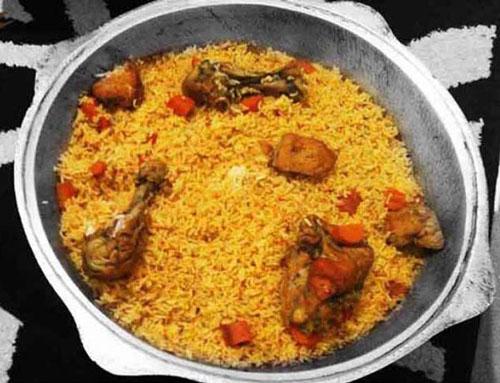 غذای سنتی ترکمن ( چکدرمه )