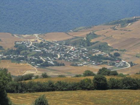 نمایی از داخل روستای فارسیان/گالیکش