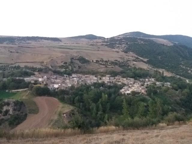 نمایی از داخل روستای پنو/گالیکش