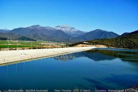 توسعه توریسم و گردشگری در علی آباد کتول در کنار سد زیبای نگارستان علی آباد کتول