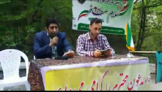 نشست شاعران انجمن شعر وادب قلم زرین گلستان در علی آباد کتول